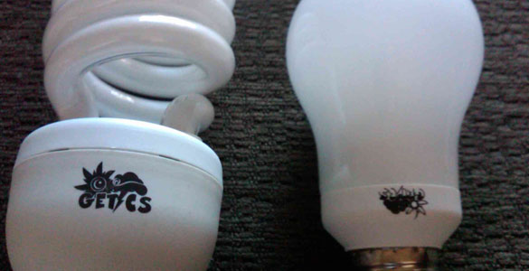 Brighten your Day with CFL Compact Fluorescent Light Bulbs